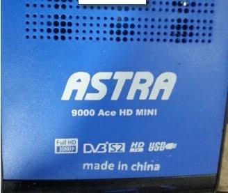 طريقة ادخال شفرة قناة دهوك لجهاز استرا 9000 aceHD mini