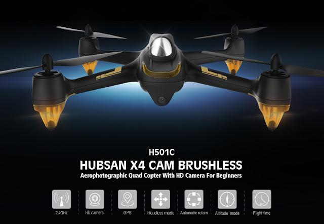 Hubsan-X4-H501C-Quadcopter