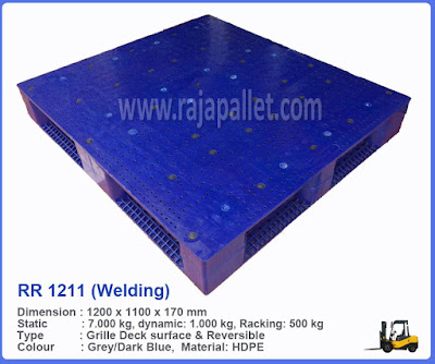 Pallet Plastik RR 1211 (Welding)
