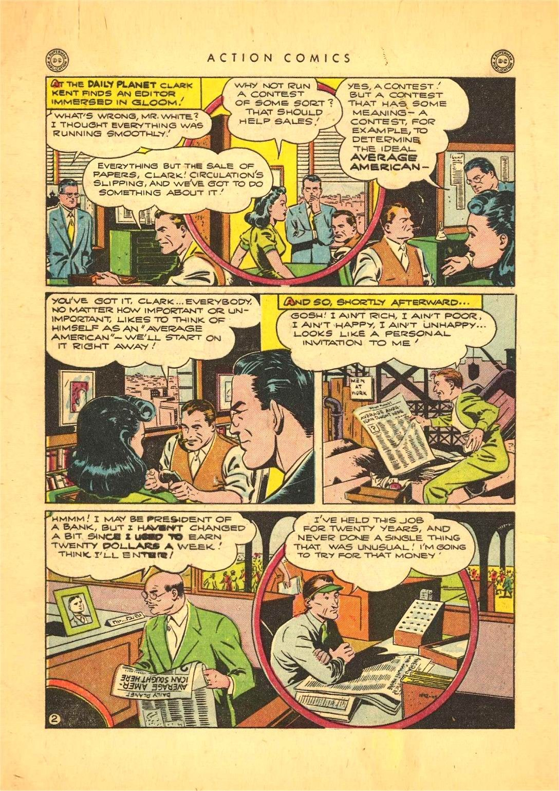 Read online Action Comics (1938) comic -  Issue #92 - 4