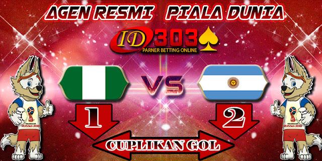 CUPLIKAN GOL NIGERIA 1 - 2 ARGENTINA