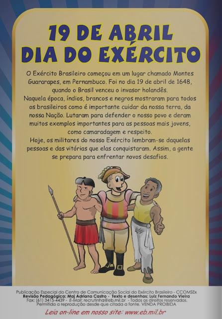 revista recrutinha Exército Brasileiro