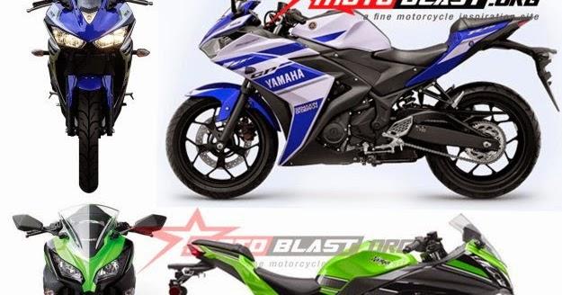 Full Compare Head To Head Yamaha R25 Vs Kawasaki Ninja 250r Ymha R15
