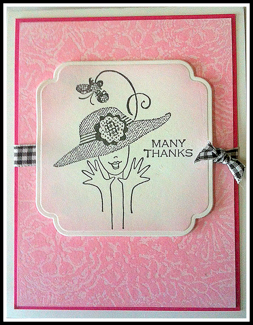 Cards By Regina: Making A Card Using Wax Paper