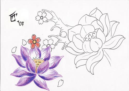 Top tattoo artists phoenix, japanese lotus flower tattoo ...