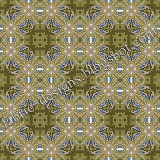 geometric fabric pattern and design