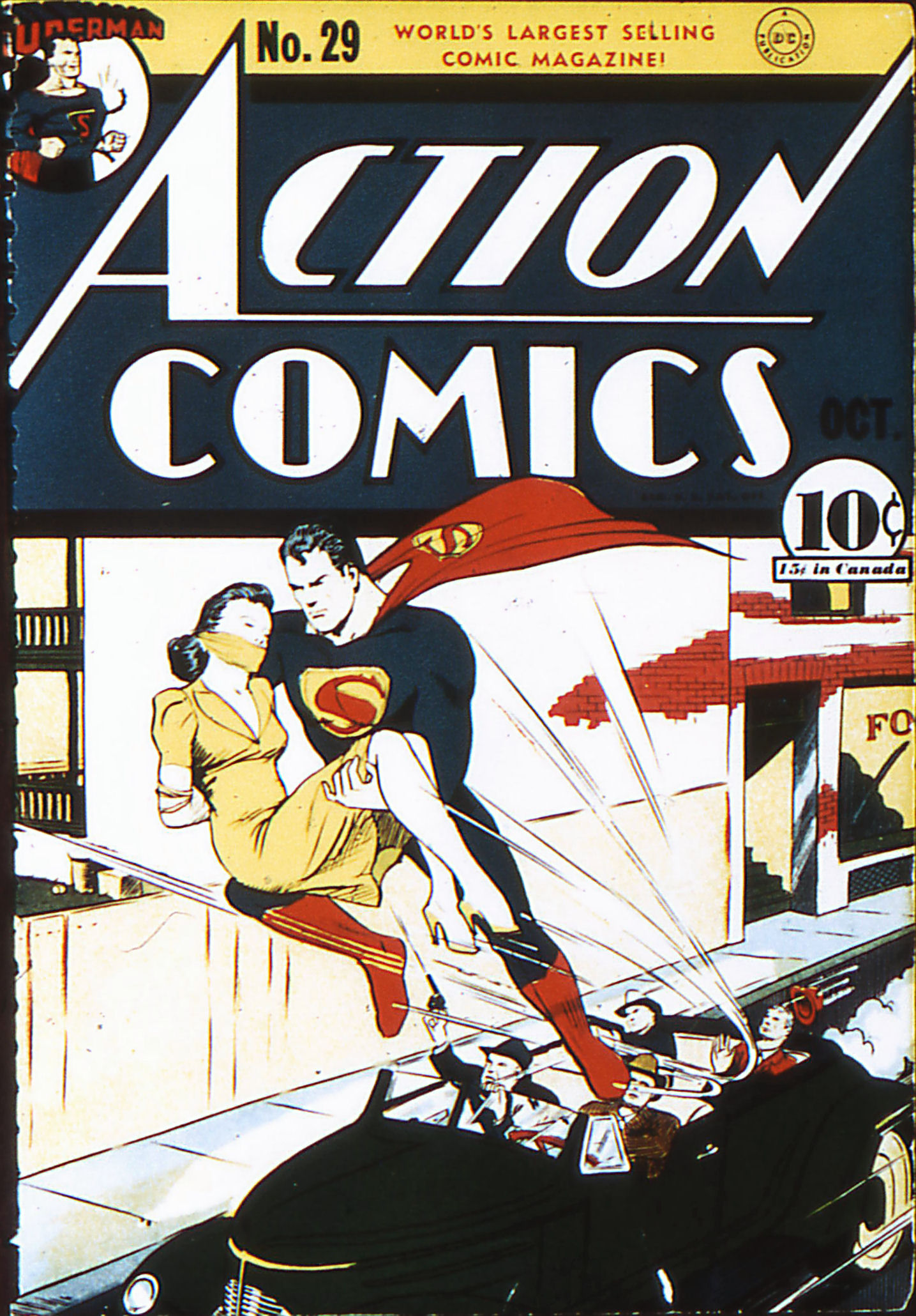 Action Comics (1938) 29 Page 1