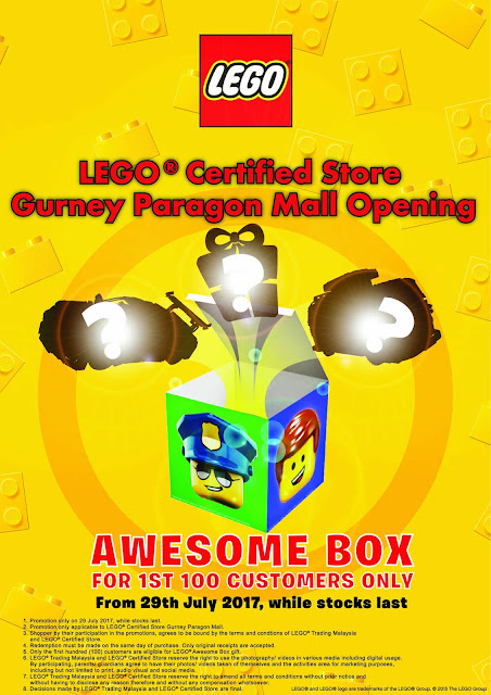LEGO Certified Store Malaysia Free Awesome Box