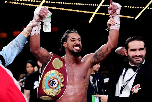 Demetrius Andrade - WBO middleweight world Champion