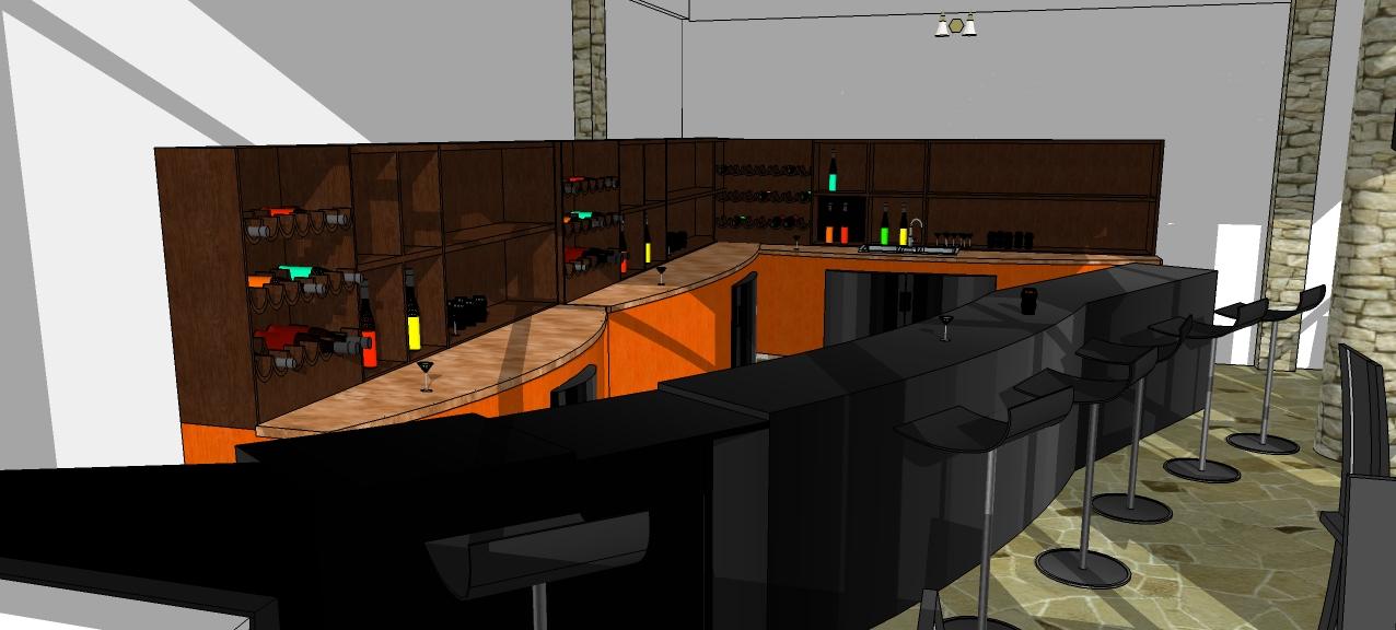 Proyecto terraza bar restaurant artistas de la construccion - Proyecto bar cafeteria ...