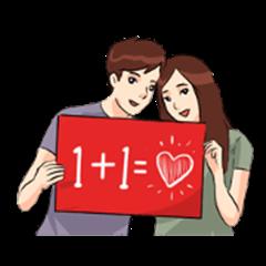 The Love 3 : Sachet Sticker