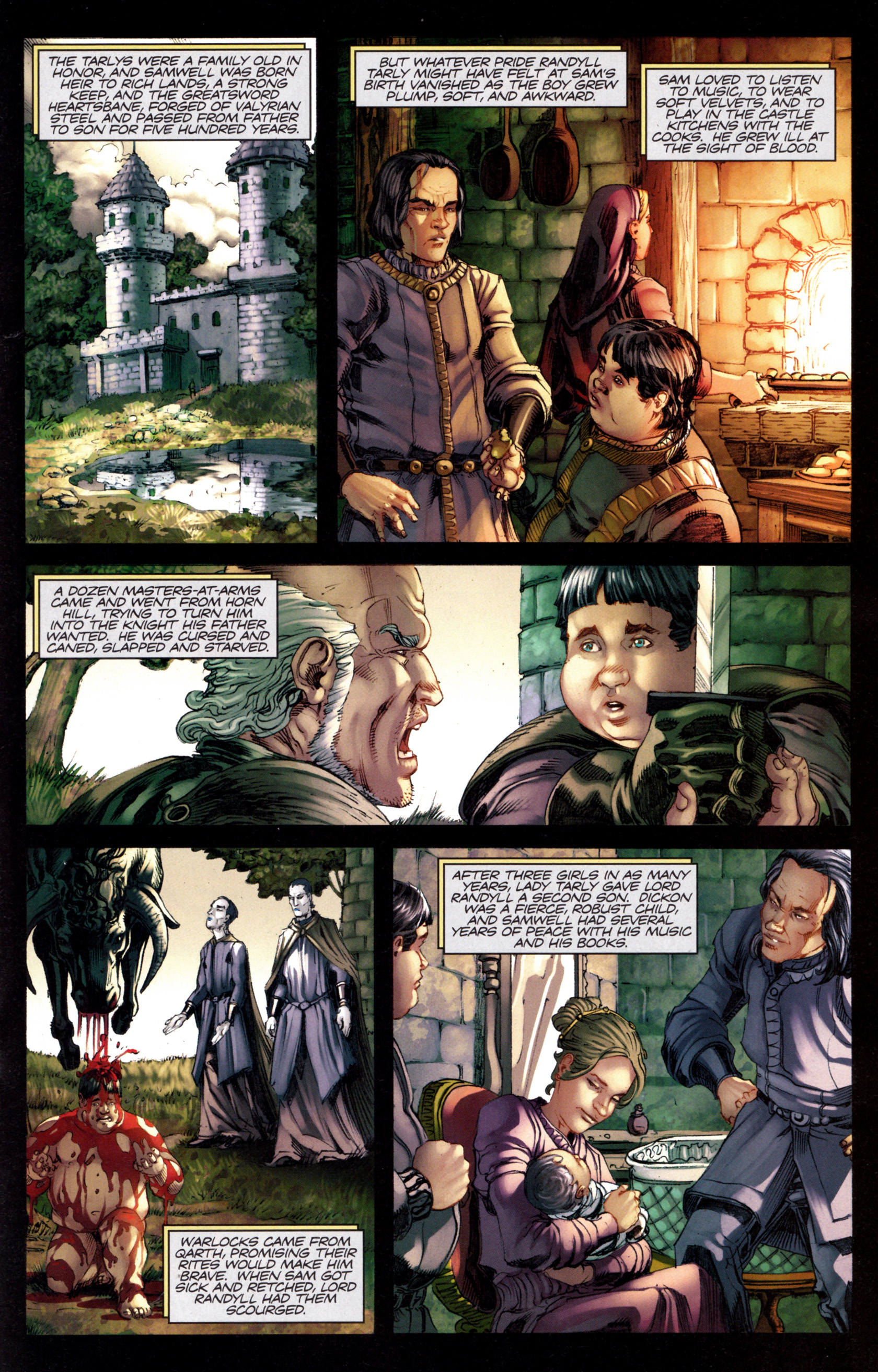 Read online A Game Of Thrones comic -  Issue #8 - 19