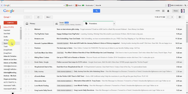gmail inbox open, google gmail, gmail settings