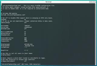 Cara Install dan Konfigurasi ProFTPD pada Operating System Linux Ubuntu