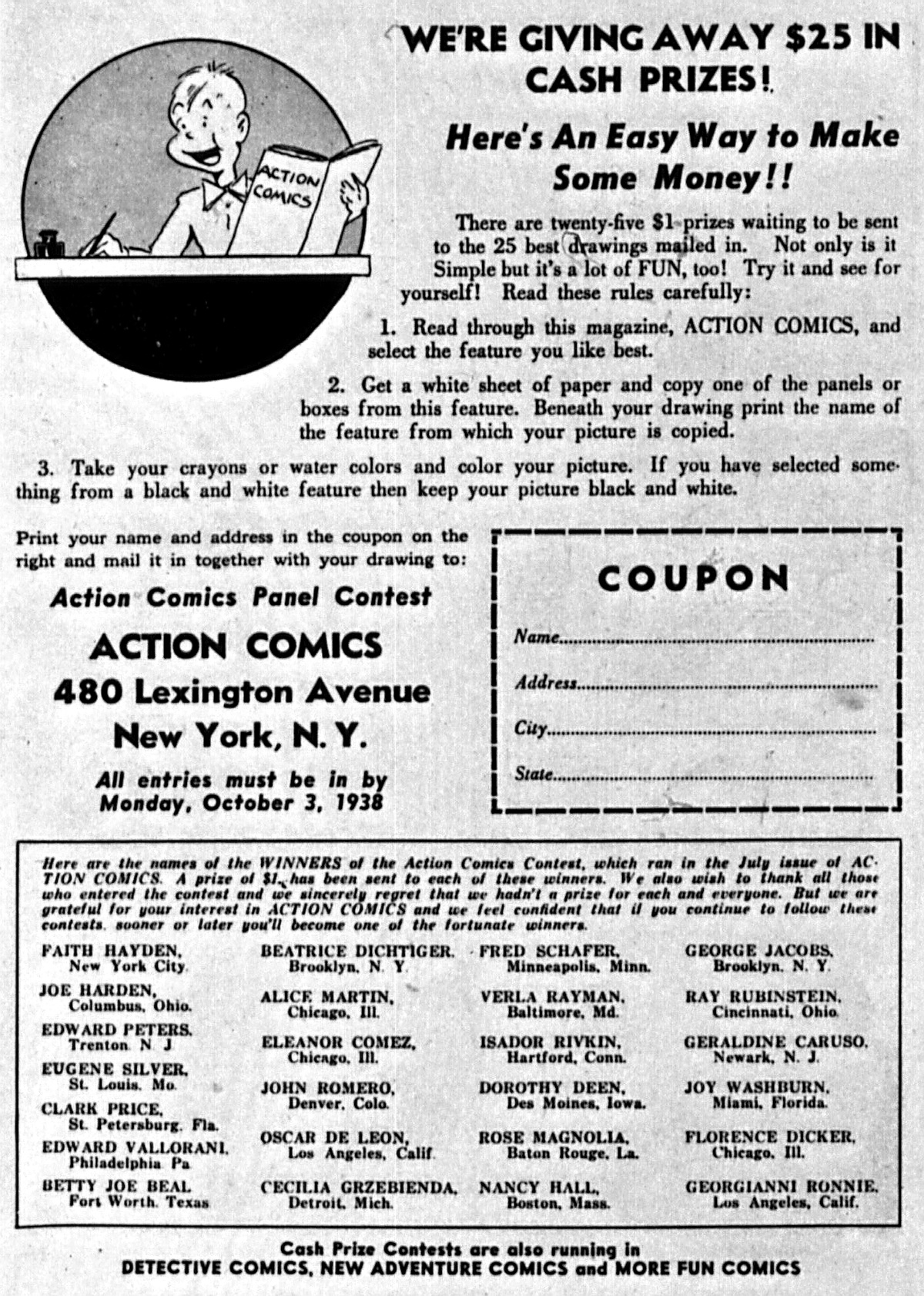 Read online Action Comics (1938) comic -  Issue #5 - 67