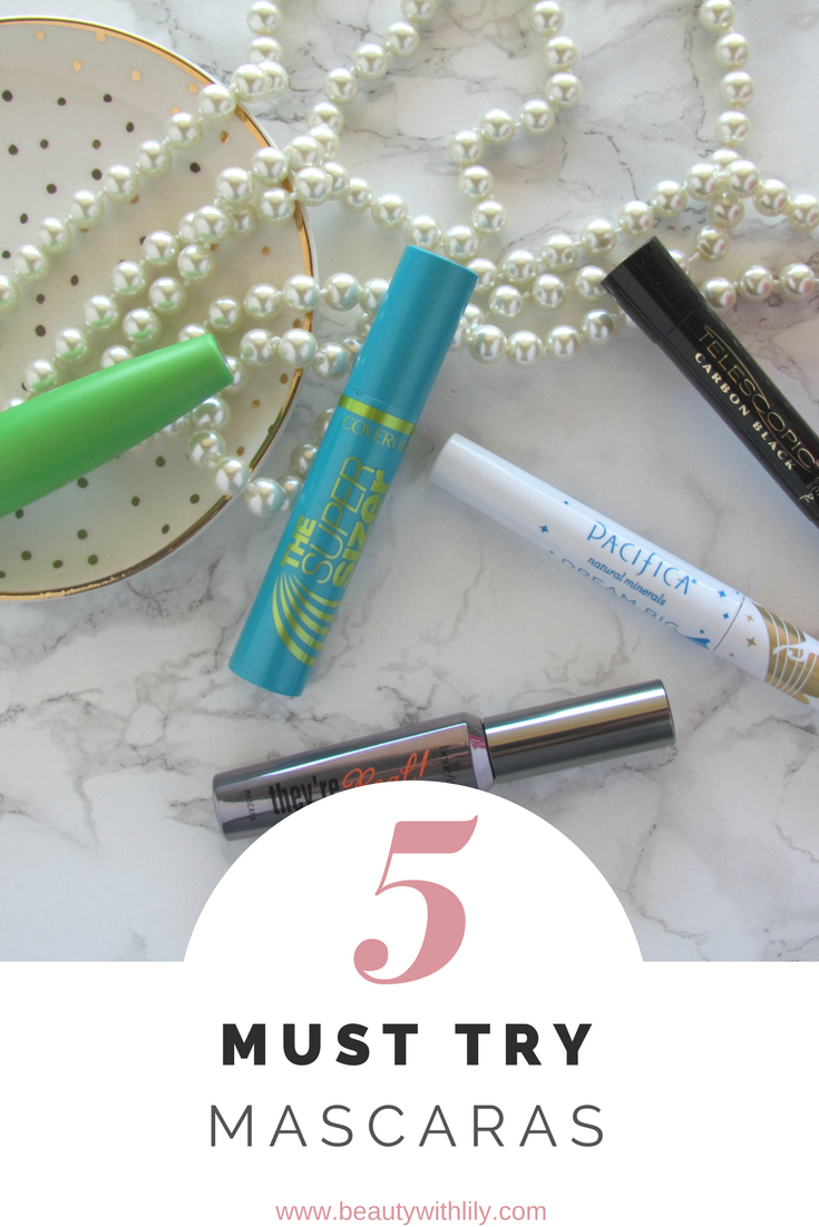 5 Must Try Mascaras That Actually Do What They Claim | beautywithlily.com
