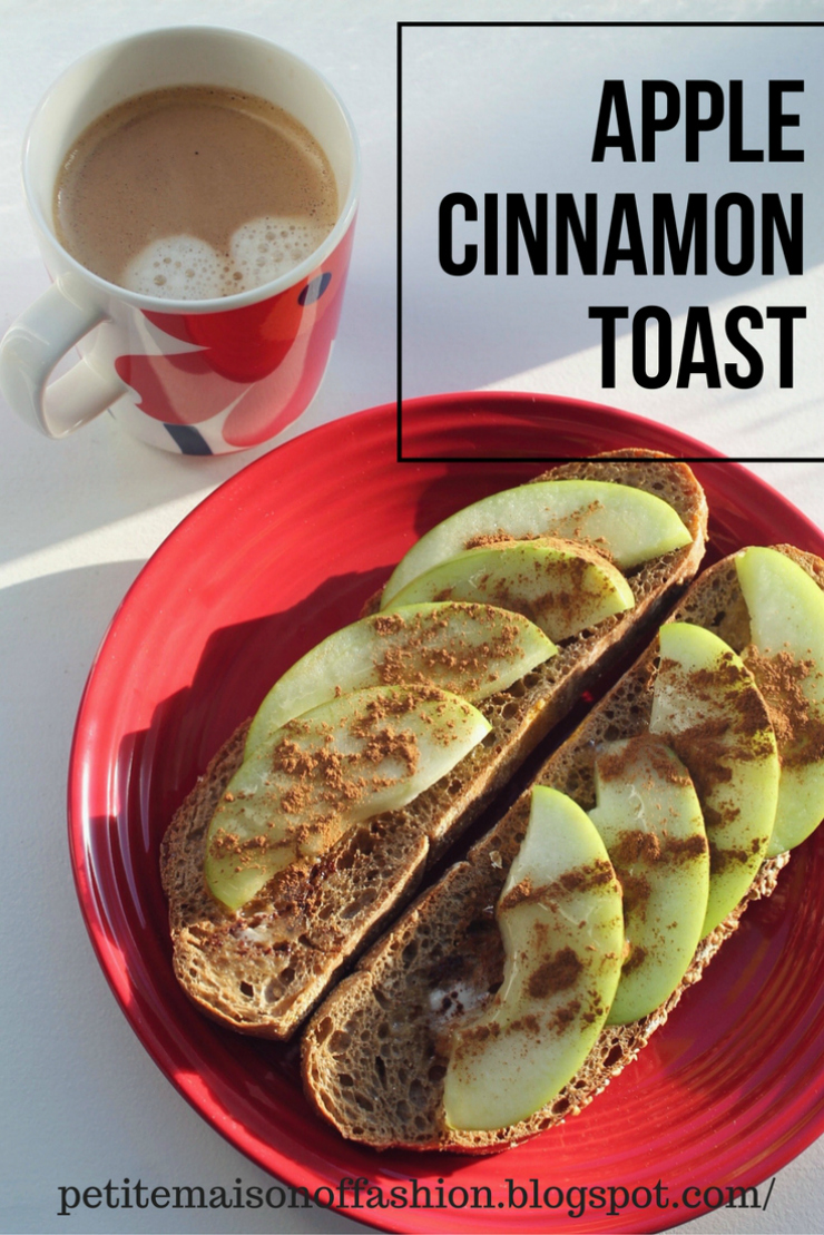 Easy Recipe for Apple Cinnamon Toast. Perfect for a nice weekend breakfast.