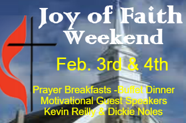 Join us for Joy of Faith Weekend