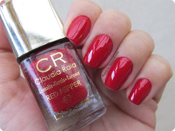 Esmalte Cláudia Raia Red Pepper