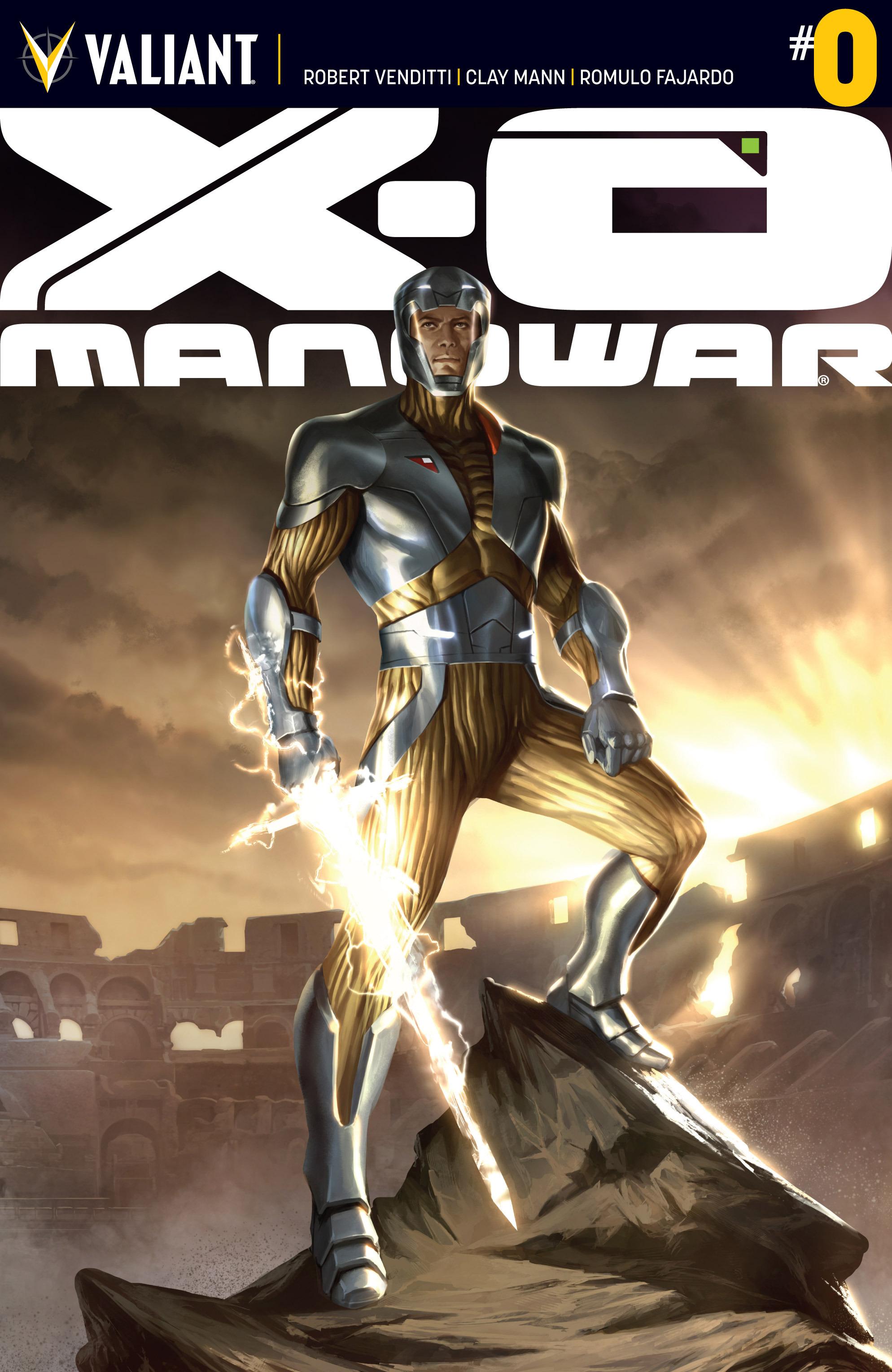 X-O Manowar (2012) 0 Page 1