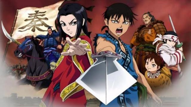 Kingdom - Anime Tentang Perang Terbaik dan Terkeren (Dari Jaman Kerajaan sampai Masa Depan)