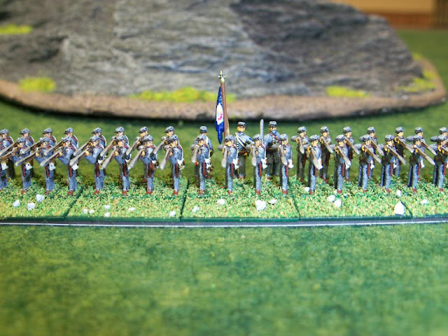 GHQ 10mm Civil War Confederate Virginia Stonewall Brigade Regiment