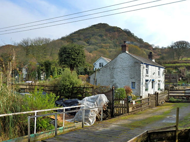 Cottages in Gover Valley, St.Austell, Cornwall