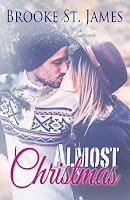 http://katiescleanbookcollection.blogspot.com/2017/01/almost-christmas-by-brooke-st-james.html