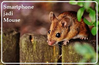 Ubah HP jadi Mouse bukan tikus