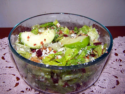 Apple Walnut Lettuce Salad