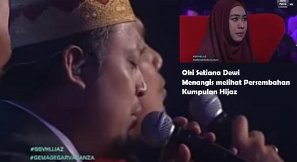 """Para Juri Dan Penonton Menitiskan Air Mata Saat Mendengarkan Bait-Bait Kata Persembahan Hijaz dengan lagu """"Sumayyah"""" Dalam Gema Gegar Vaganza 1"""