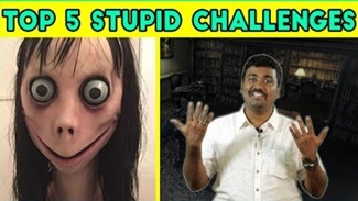 Top 5 Stupid Social Media Challenges Explained in Tamil | Momo Challenge | Kichdy
