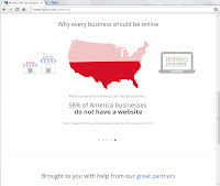 Screenshot Google Get yout business online