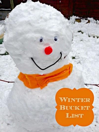 Home Sweet Homestead: Winter Bucket List
