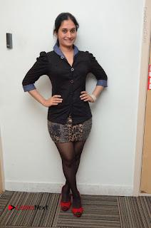 Telugu Actress Priyanka Pallavi Stills in Micro Mini Skirt at Nenosthaa Movie Song Launch at Radio City  0063.JPG