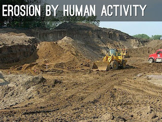 العوامل و الانشطه التي تؤدي الي تدهور التربة