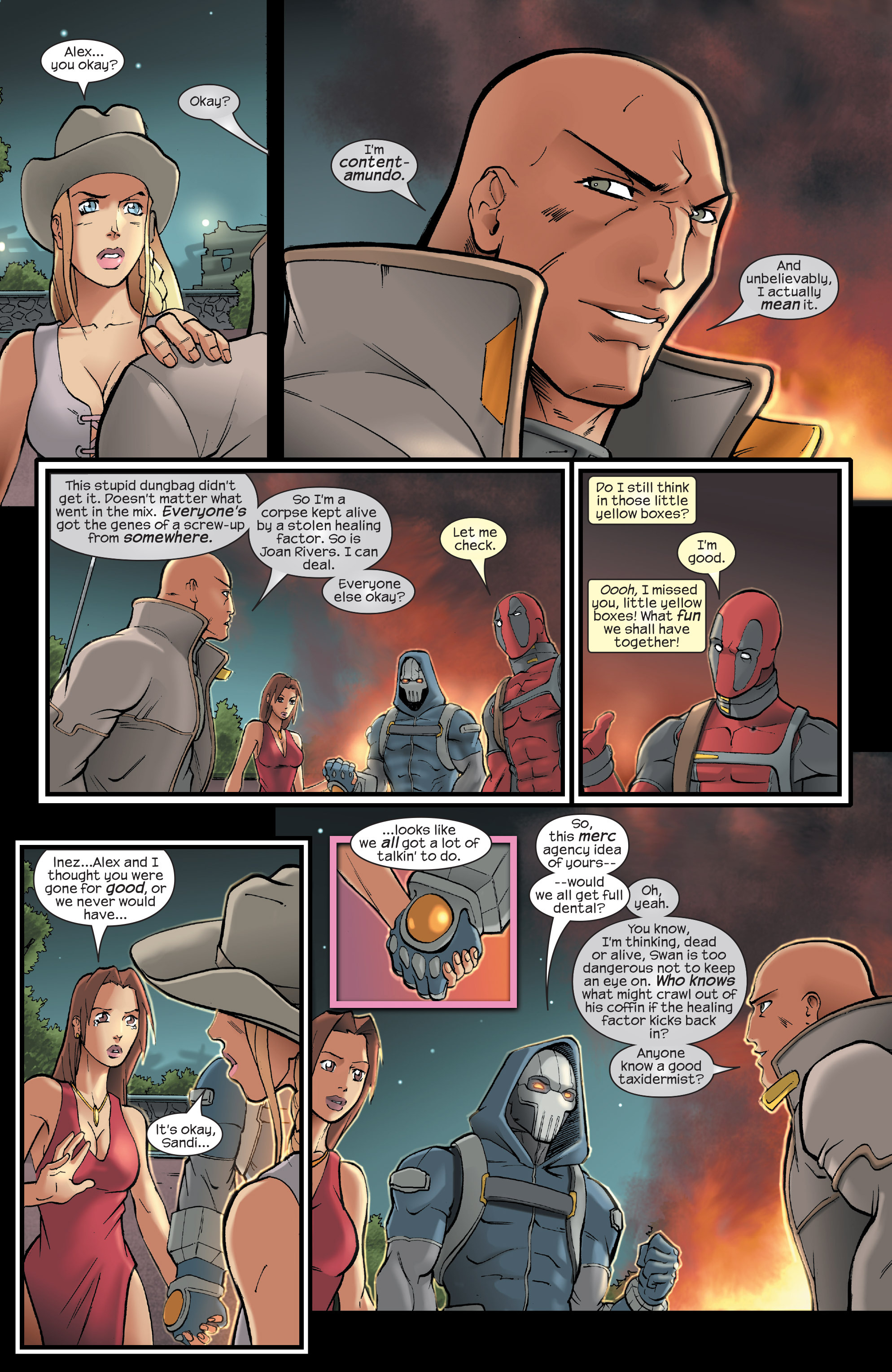 Read online Agent X comic -  Issue #15 - 21