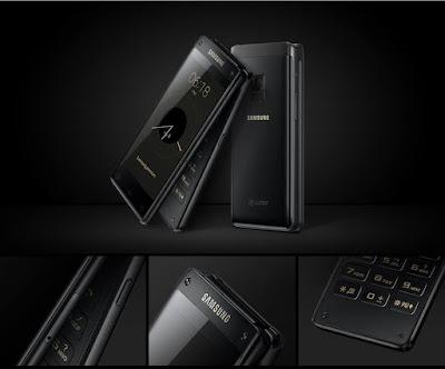 شركة سامسونج تطلق رسمياً جهازها الجديد Samsung Flip W2018 بسعر خيالي !!