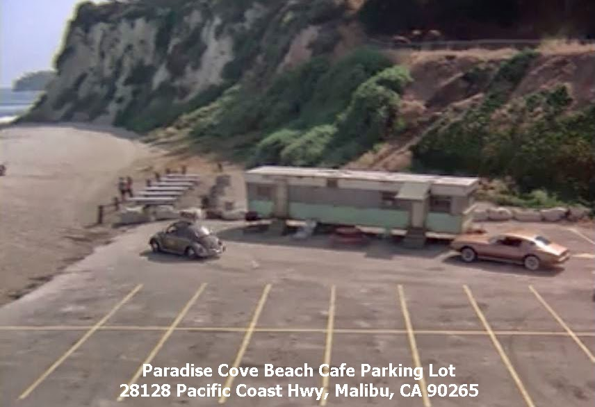 Rockford files filming locations for Location parking