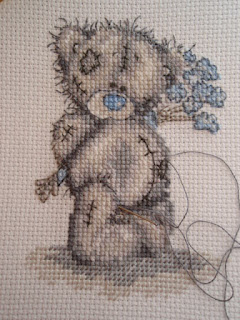 Tatty Teddy - week 4