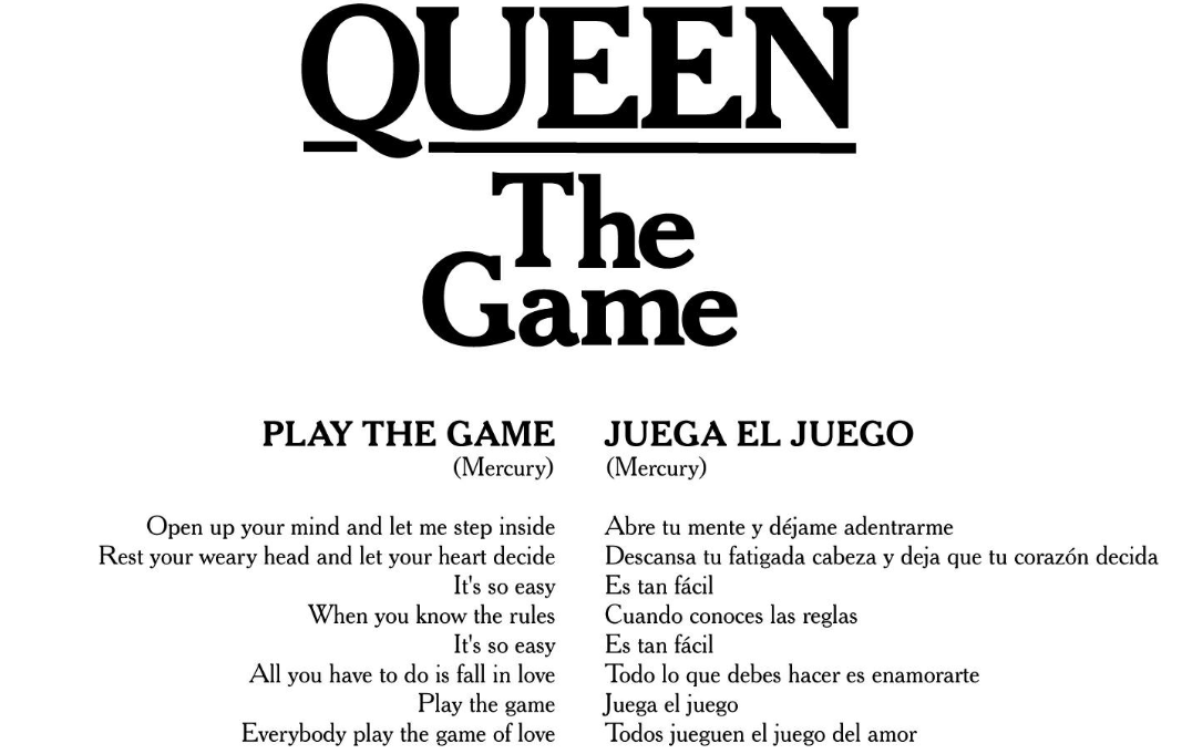 Letras Traducidas - The Game / Flash Gordon