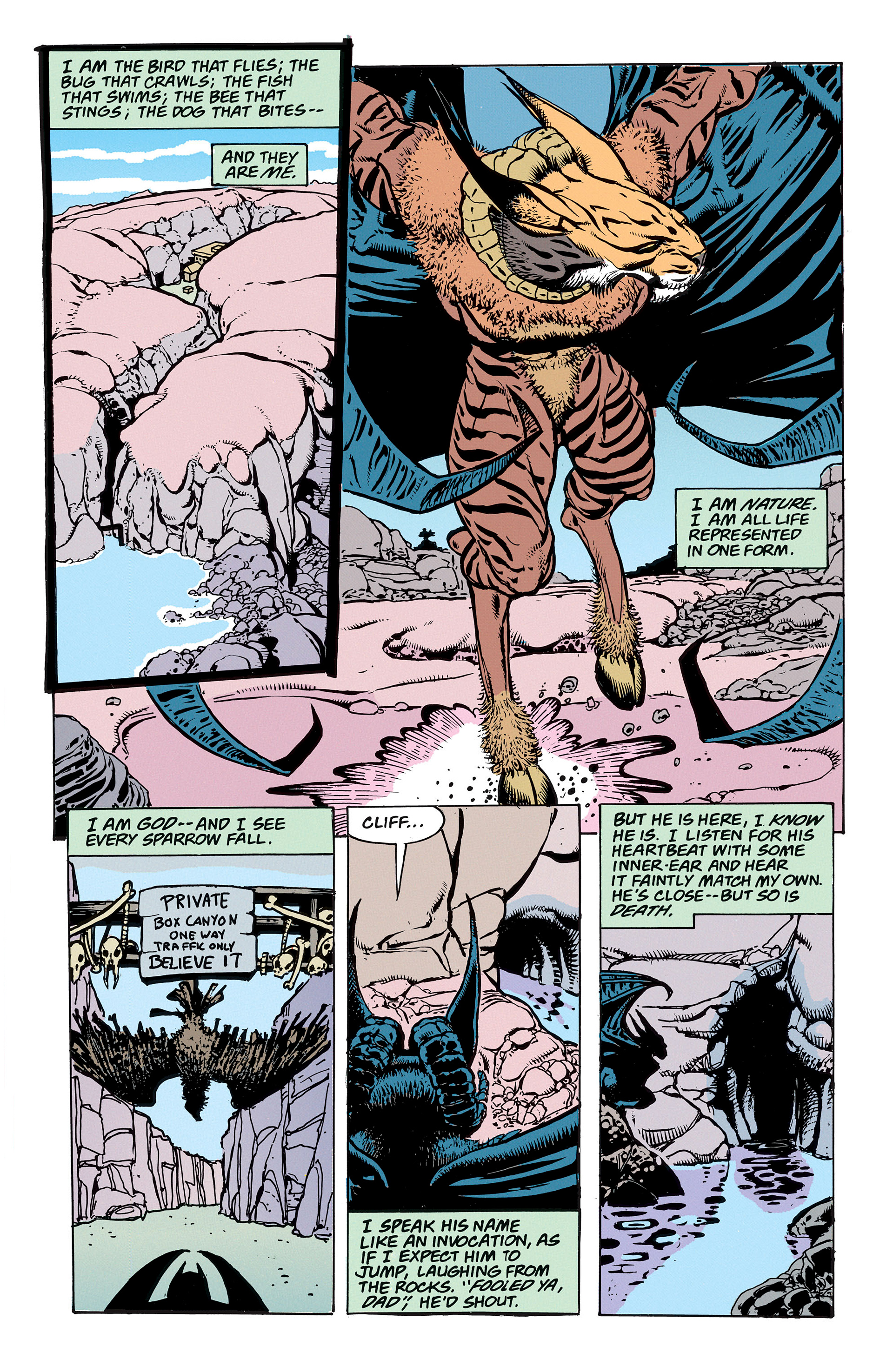 Read online Animal Man (1988) comic -  Issue #56 - 20
