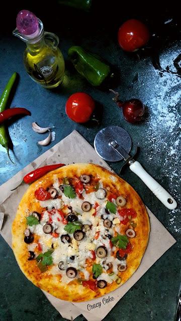 البيتزا الشهية البسيطة