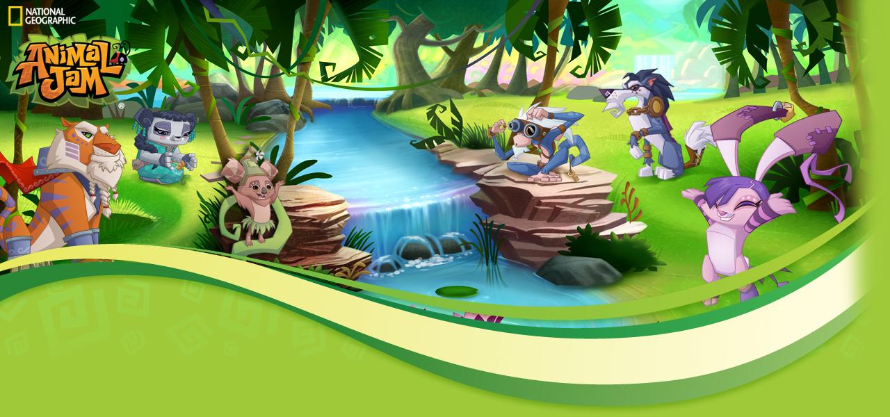 Animal jam spirit blog pink treasure - Animal jam desktop backgrounds ...