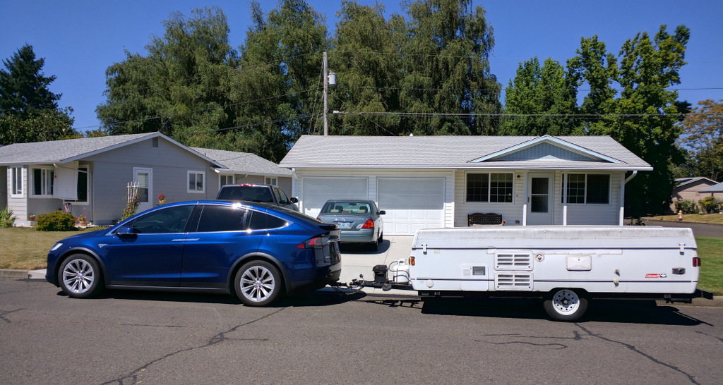 Cars With Cords: Towing w/ A Tesla