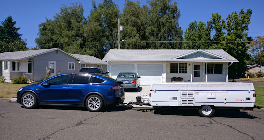 Towing w/ A Tesla