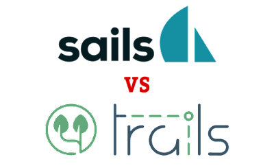 Sails vs Trails Node.js