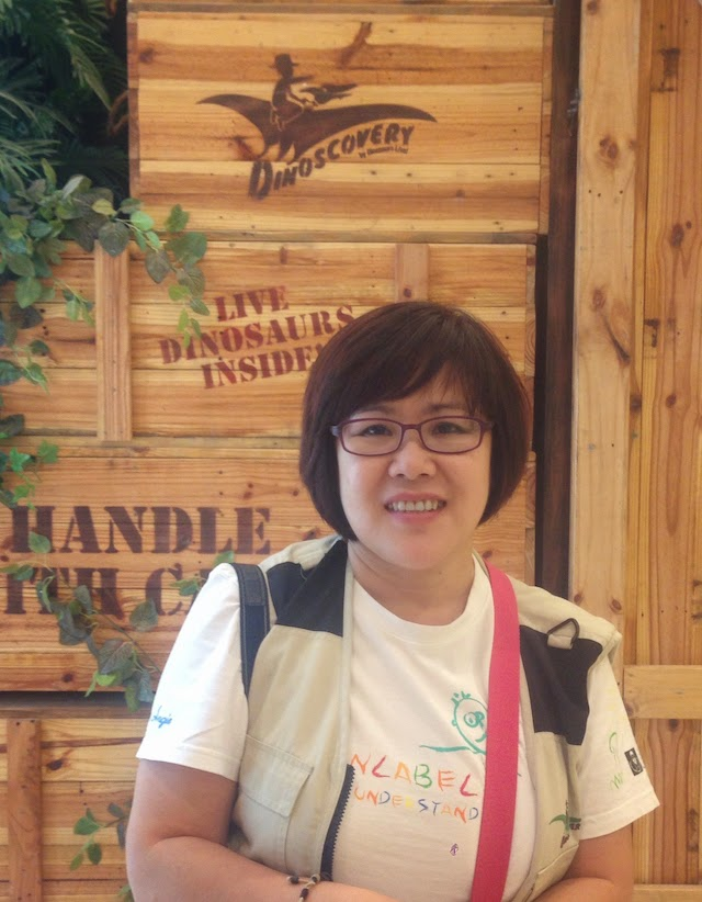 Angie Heng, Administrative Director of Kiwanis Down Syndrome Foundation