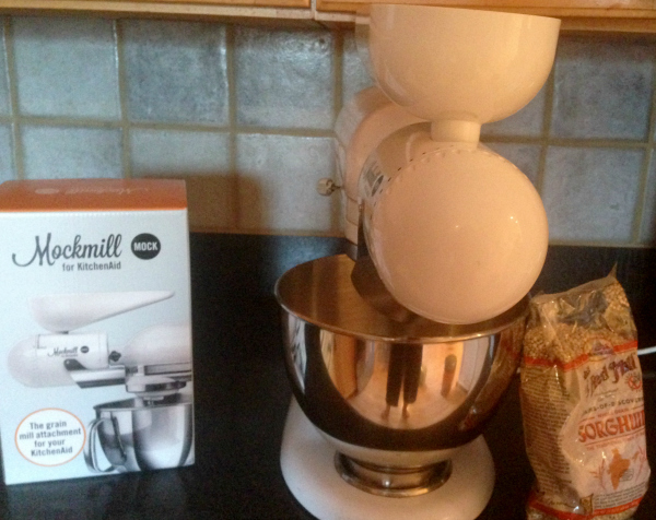 DIY Grain Milling -- MockMill KitchenAid attachment for milling grain at home