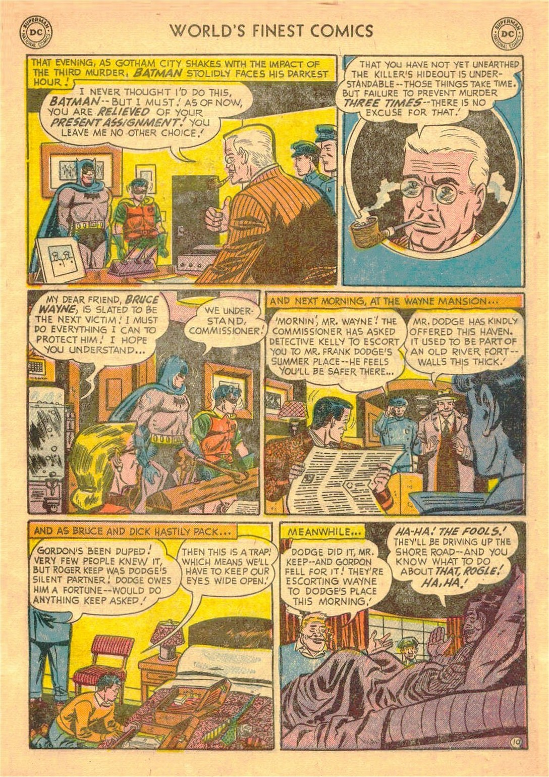 Read online World's Finest Comics comic -  Issue #58 - 63